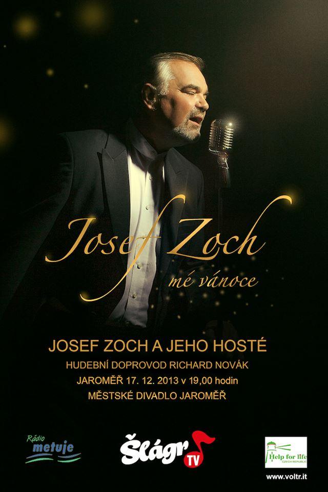 "koncert Josefa Zocha ""Mé vánoce"""
