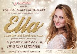 Vánoční benefiční koncert pro děti pěstounských rodin - Ella