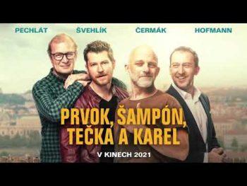 Kinoklub - PRVOK, ŠAMPÓN, TEČKA A KAREL